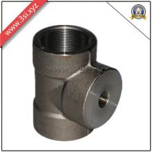 Tee igual feminino de aço carbono Asme (YZF-L100)