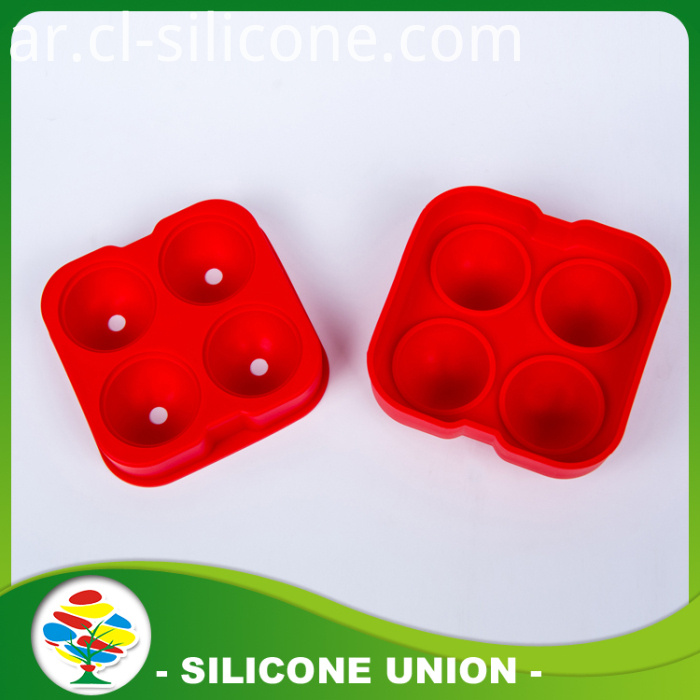Red Silicone Mould