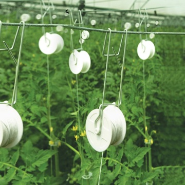 Skyplant Tomato Hook with Rollers Grow Support Hooks