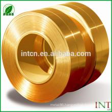 High quality minerals factories supplies ISO UNS standard CuZn5 brass strips