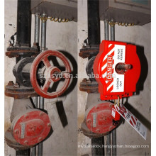 Approve CE new small size and effective control universal gate valve lockout devices