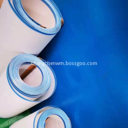 White PU Conveyor Mesh Belt