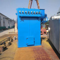 Calcium carbide furnace dust collector