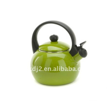 enamel whistling kettle