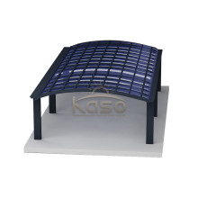 Villa Uv Protection Car Skylight Vinyl Covered Carport