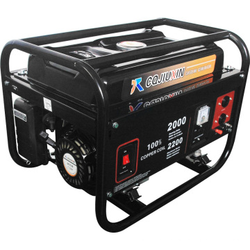 2.5kw 2500W Leistung beweglicher Benzin-elektrischer Generator-Generator-Satz