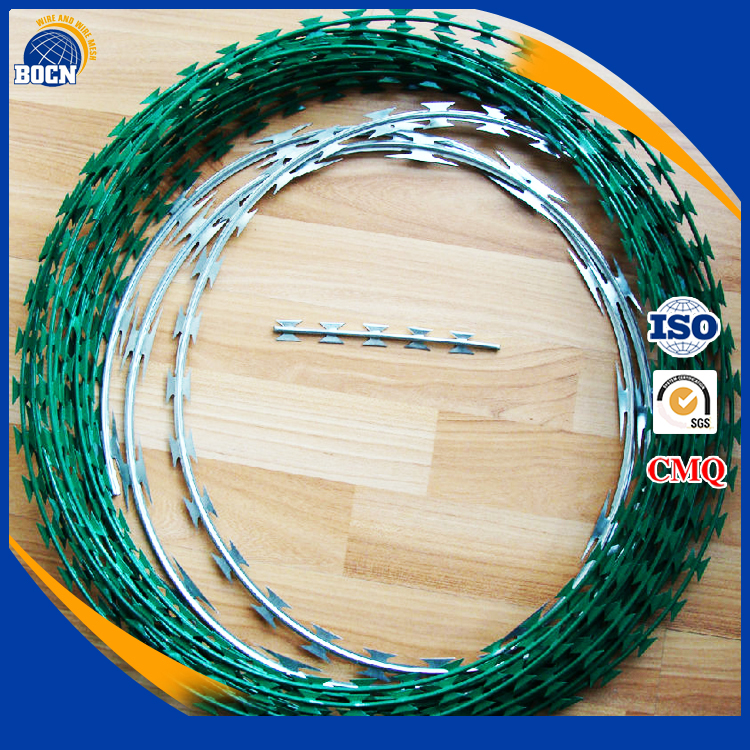Used barbed wire barbed wire weight per meter for fence