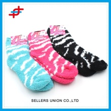 Hot Selling Microfiber Yarn Socks Zebra Socks