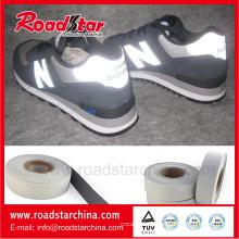 épaisseur de 0,8 mm cuir réfléchissant pour chaussures matières