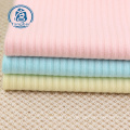 wholesale knitted rib single jersey cotton spandex fabric