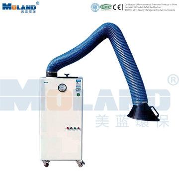 Extrator de fumaça de soldagem móvel para extração de poeira