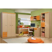 Цветная смешанная детская детская мебель для спальни (HF-EY08113)