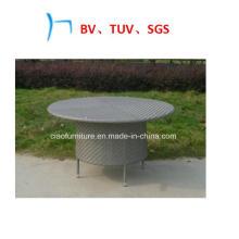 Открытый мебель из ротанга мебель ручной Ткацкий круглые столы (общ.-170)
