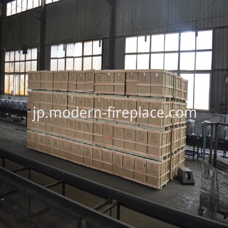 Efficient Log Wood Stove Factory Packaging
