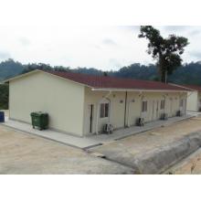 Casa modular prefabricada en África - Angola