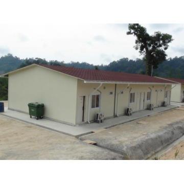 Casa modular pré-fabricada em África - Angola