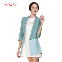 Women Fashion Half Sleeve Casual Coat