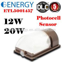 Wasserdichter im Freien TUV CER UL listete Wandsatz auf, der Wandbeleuchtung 20W mit Lichtschranke 120V / 230V Wandpackungslicht im Freien beleuchtet