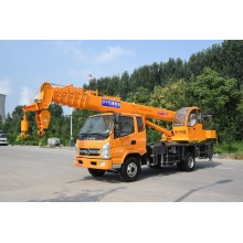 Hot Sale for Hydraulic Mobile Crane 10 ton mobile crane export to Romania Manufacturers