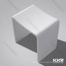 stone resin bathroom stool chair