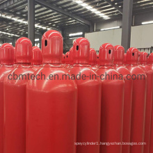 High Strength 80L 267mm High Pressure C02 Gas Cylinders