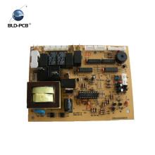 diseño de placa de circuito con ensamblaje