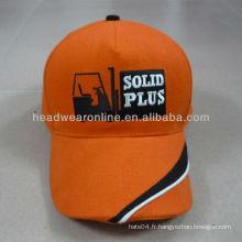 Chapeau de broderie à 5 panneaux en caoutchouc de qualité supérieure Guangdong cap