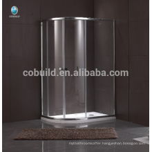 K-542 High quality stainless steel shower enclosure with frame dubai shower room