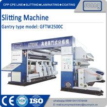 Rolagem de papel automaticamente rebobinando máquina de corte
