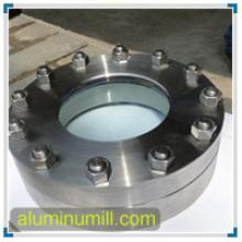 Flange de Orifício de Alumínio 6061 T6 ASTM / ANSI