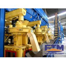 Ring Die Biofuel Pellet Machine/1.0-1.5t/h Ring Die Pelletizing Machine