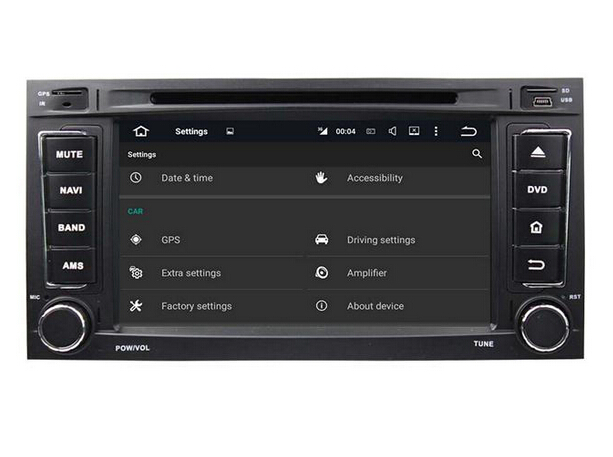 Android car multimedia for VW Touareg/Multivan