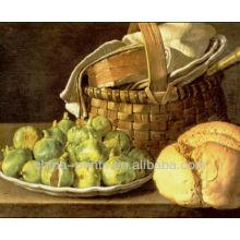 Imagens de alimento Pintura a óleo da lona por Handpainted
