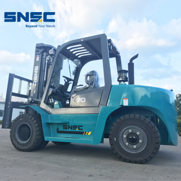 Carretilla elevadora 8Ton Diesel Powered Forklift