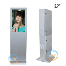 high brightness 1500 nits outdoor 32 in monitor waterproof for floor standing advertising kiosk