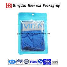 Saco de empacotamento plástico do roupa interior dos sacos da camisa dos sacos da roupa