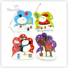 Étiquettes de cadeau de Noël échantillon de papier