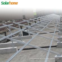 Erdmontagesystem für Solarstromanlagen Solarkraftwerksmontagesystem für Photovoltaik