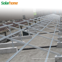 Ground Mounting System for Solar Power System Solar Power Plant Mounting System for Photovoltaic