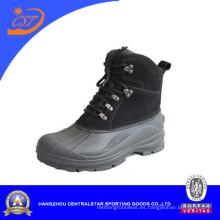 Nuevo estilo nieve superior de cuero zapatos (XD-108B)