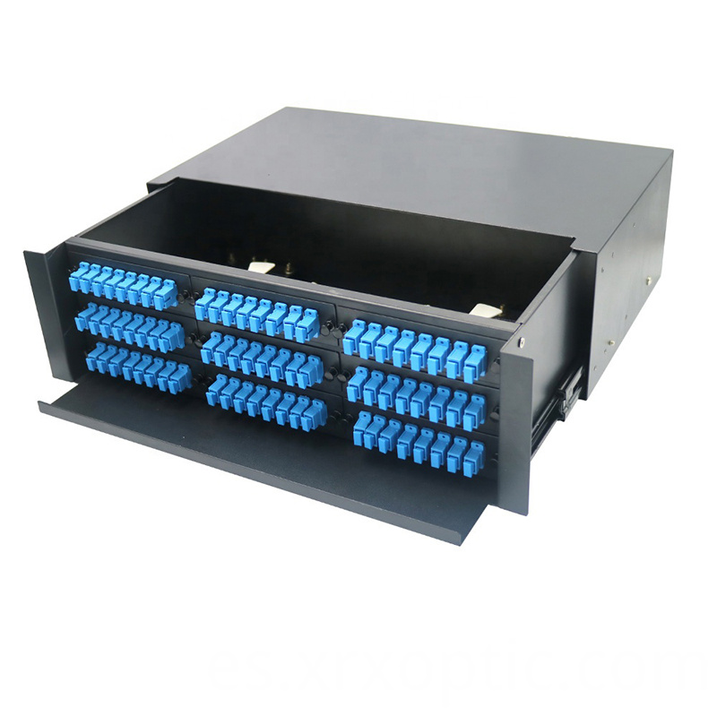 Optical Fiber Rack Mount Sliding Type 24 1