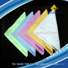 optical cleaning cloth with ultrasonic edge
