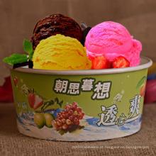 Bacia do gelado com logotipo personalizado