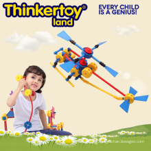 DIY Airplane Model Education Building Block Toy for Kids