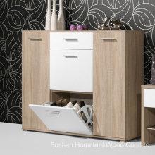 Индивидуальный деревянный шкаф для обуви (HF-EY08145)