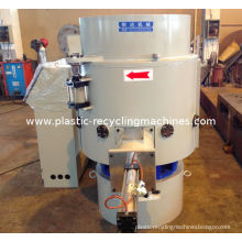 Pp / Pe Film Recycling Plastic Agglomerator With Rotary Blade