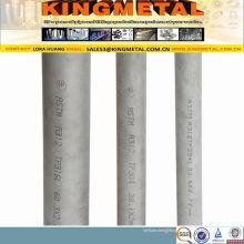 Tuyau sans couture d'acier inoxydable laminé à froid d'ASTM A269 316L / 316/321