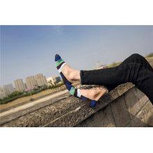 Модные мужские хлопковые носки с низким вырезом