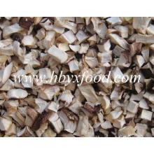 Secado Shiitake Mushroom flocos grânulos de Shiitake perna