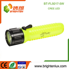 Factory Wholesale ABS Plastic 4AA Battery 5watt Emergency Diving Cree Led Light Best Bright Cheap Flashlight